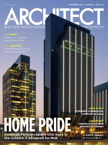 Middle East Architect - September 2012 free download