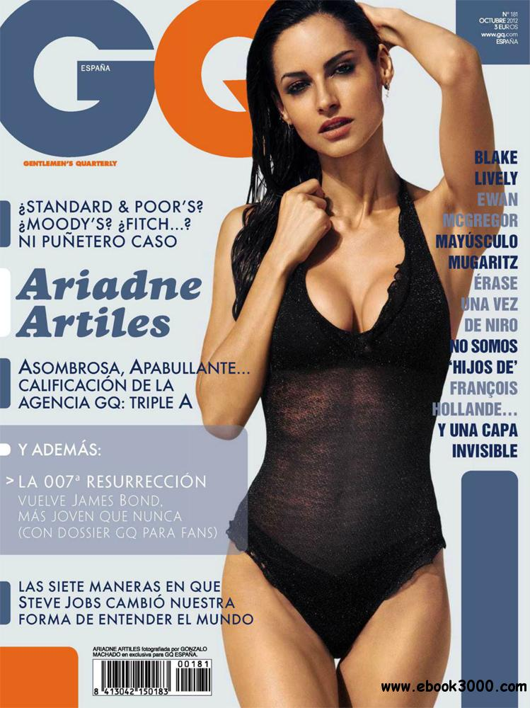 GQ octubre 2012 (Spain) free download
