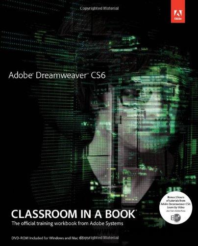 Adobe Dreamweaver CS6 Classroom in a Book free download