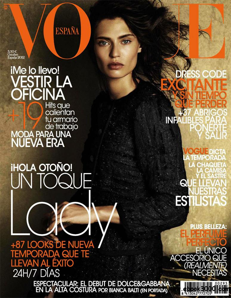 VOgue octubre 2012 (Spain) free download