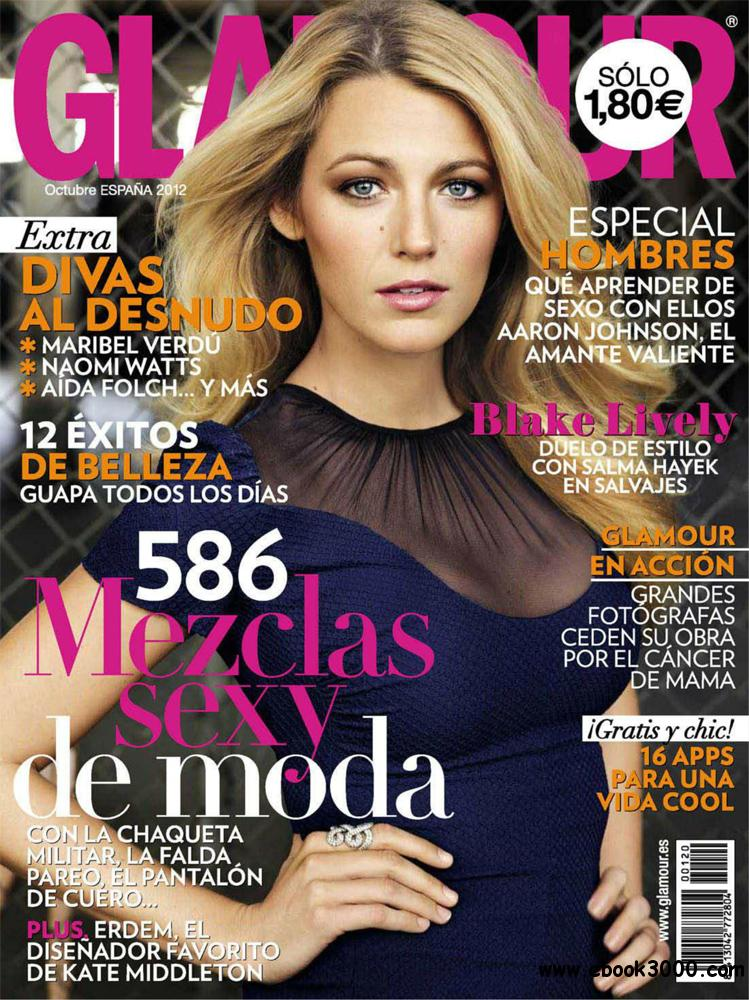 Glamour octubre 2012 (Spain) free download