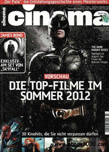 Cinema Magazin Juli No 07 2012 free download