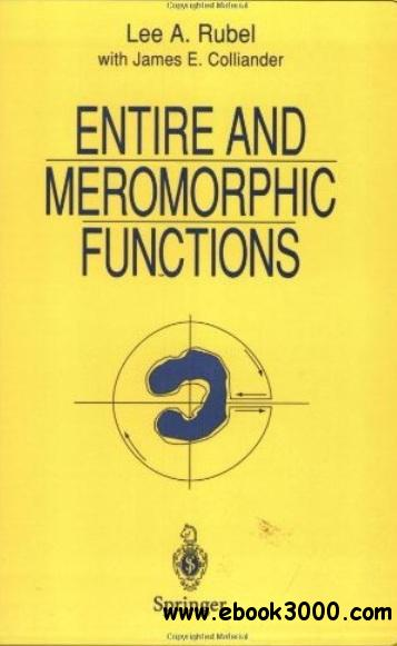 Entire and Meromorphic Functions free download