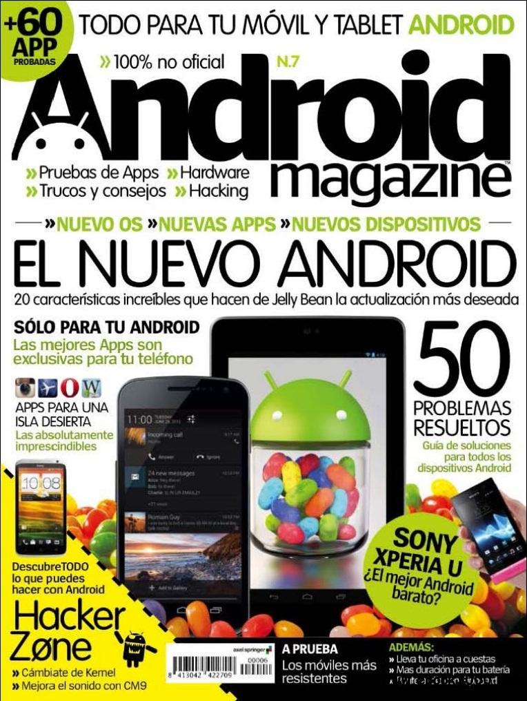 Android Magazine - Agosto 2012 free download