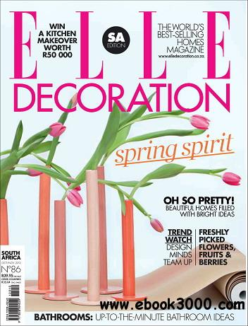 Elle Decoration Magazine (South Africa) October/November 2012 free download