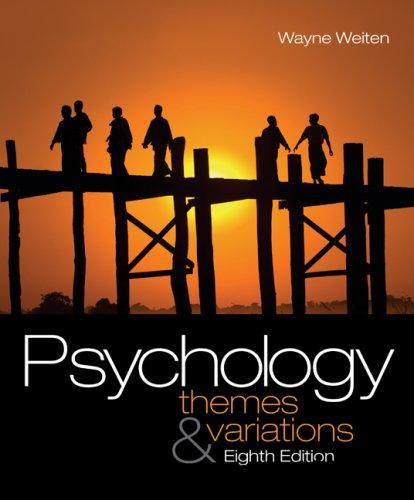 Psychology: Themes and Variations (8 edition) free download