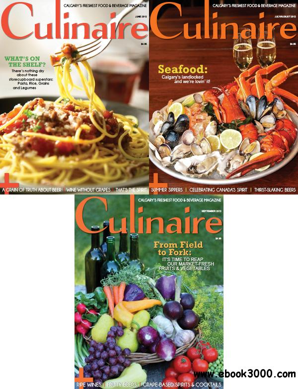 Culinaire June-September 2012 free download