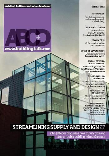Architect, Builder, Contractor & Developer - October 2012 free download