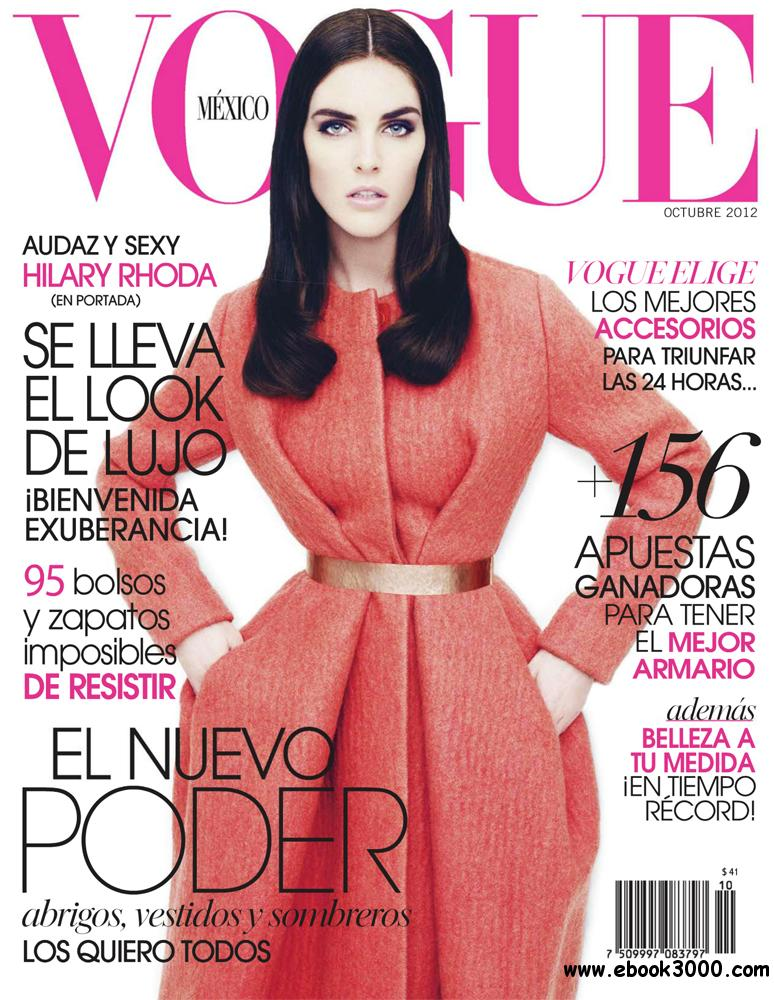 Vogue Octubre 2012 (Mexico) free download