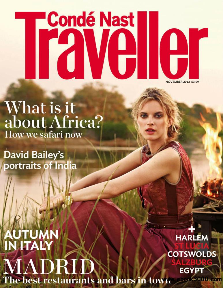 Conde Nast Traveller November 2012 (UK) free download