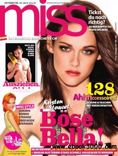 Miss Magazin Oktober No 10 2012 free download