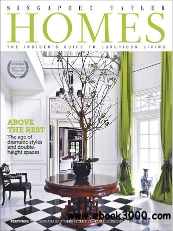 Singapore Tatler Homes Magazine October/November 2012 free download