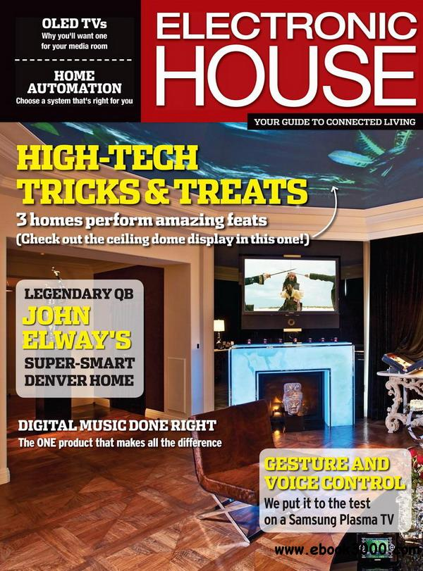 Electronic House - October 2012 - Free eBooks Download