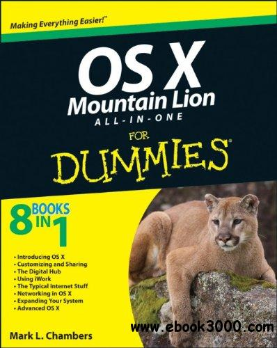 OS X Mountain Lion All-in-One For Dummies free download