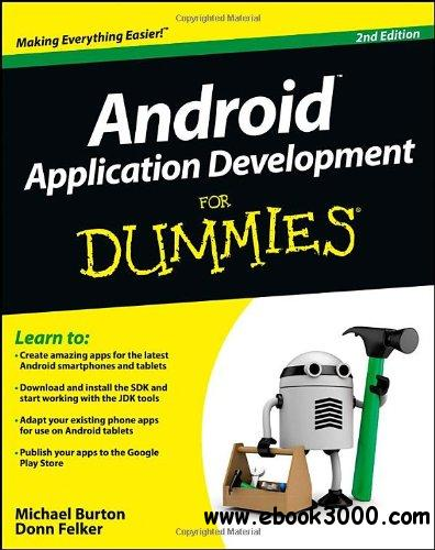 Android Application Development For Dummies, 2 edition free download