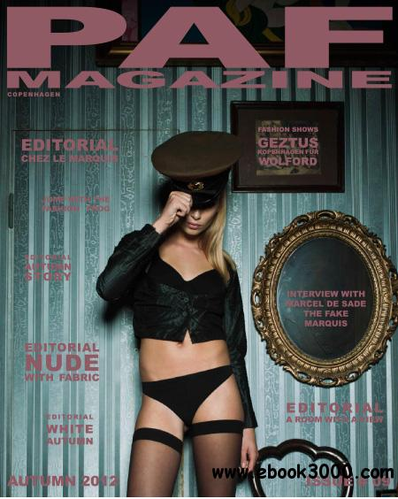 PAF Magazine - Autumn 2012 free download