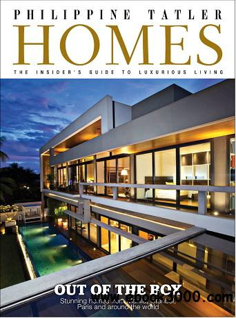 Philippine Tatler Homes Magazine Vol.4 free download