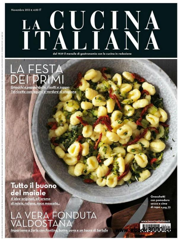 La cucina italiana novembre 2012 free ebooks download for Gastronomia italiana pdf