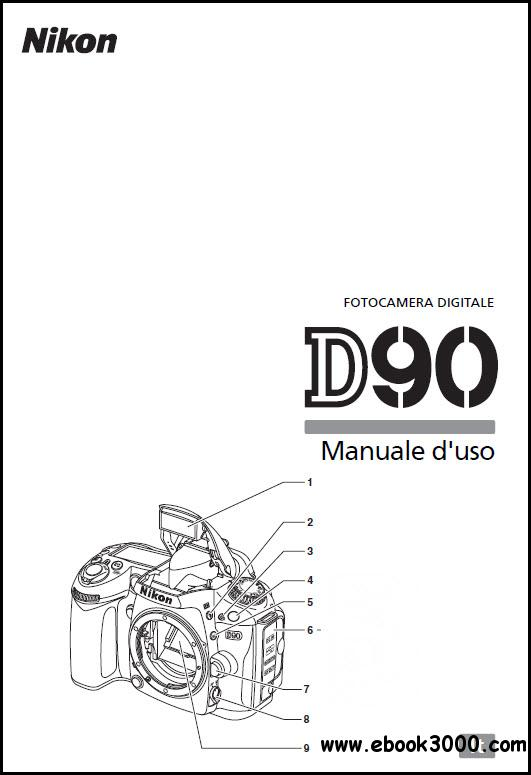 Nikon D90 - Manuale d'uso free download