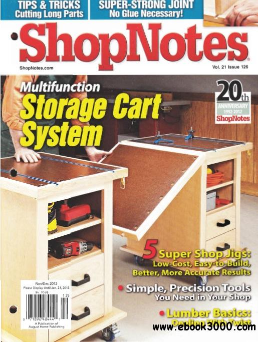 ShopNotes Issue #126 free download