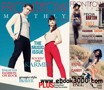 Front Row Monthly - September/October/November 2012 free download
