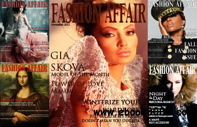Fashion Affair July-November 2012 free download