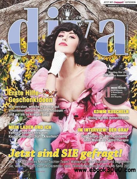 Diva - November 2012 free download