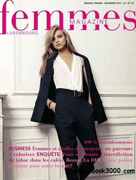 Femmes Magazine - Novembre 2012 free download