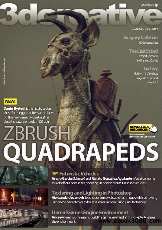 3Dcreative Issue 86 - October 2012 free download
