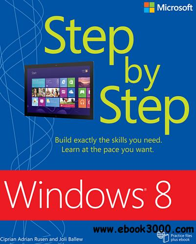 Windows 8 Step by Step free download