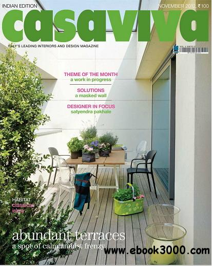 Casaviva India Edition Magazine November 2012 free download