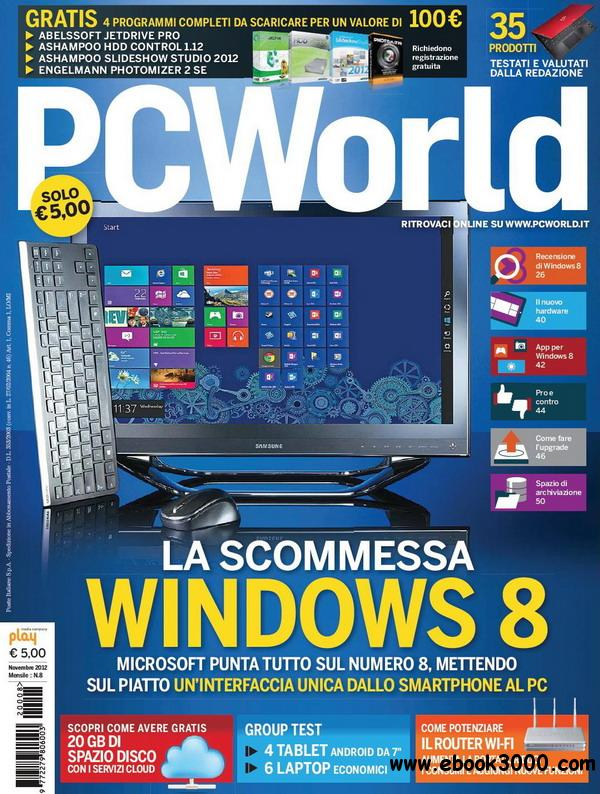 PC World No.8 - Novembre 2012 / Italia free download