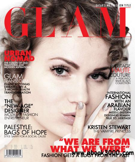 Glam Magazine - November 2012 free download
