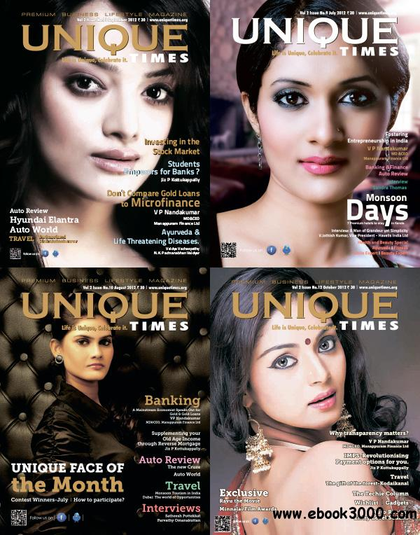 Unique Times India July-October 2012 free download