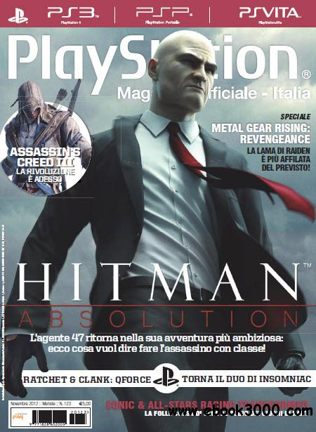 Playstation Magazine Ufficiale Italia N.123 - Novembre 2012 free download