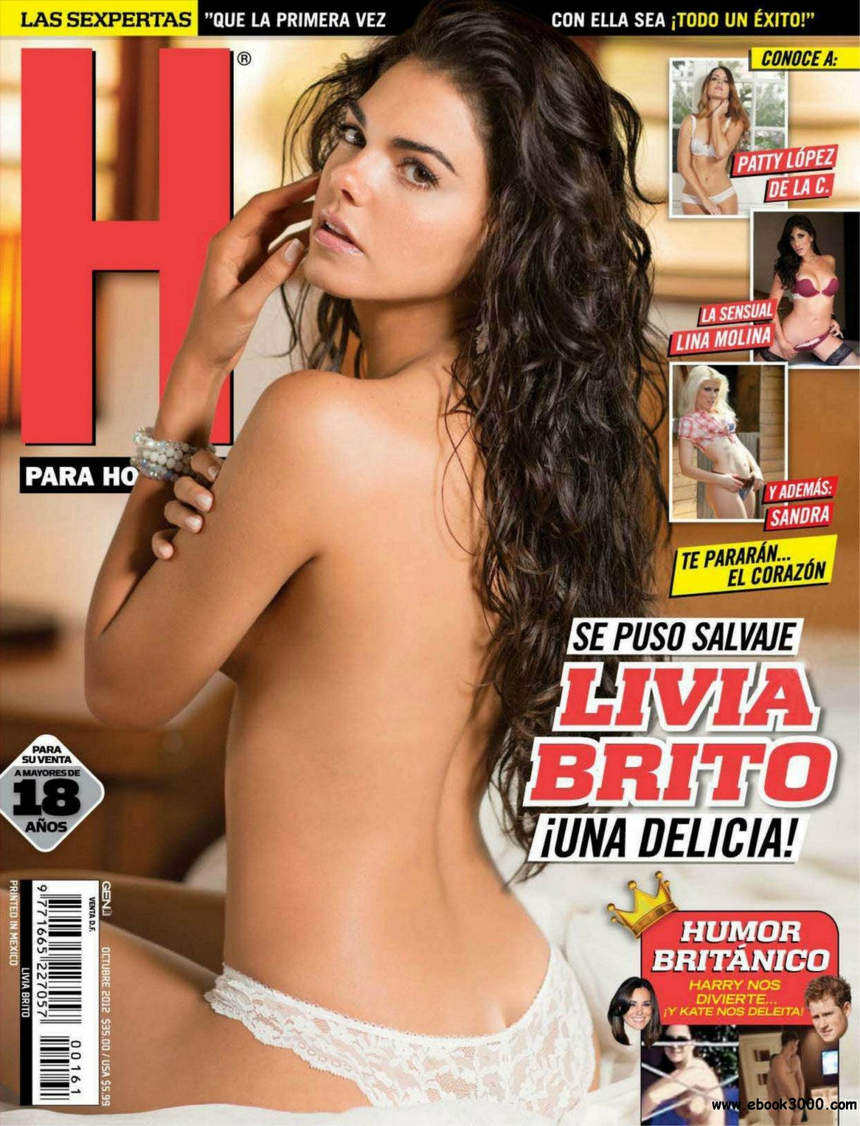 H para Hombres Mexico - October 2012 free download