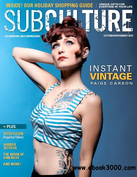 Subculture Magazine - October/November 2012 free download