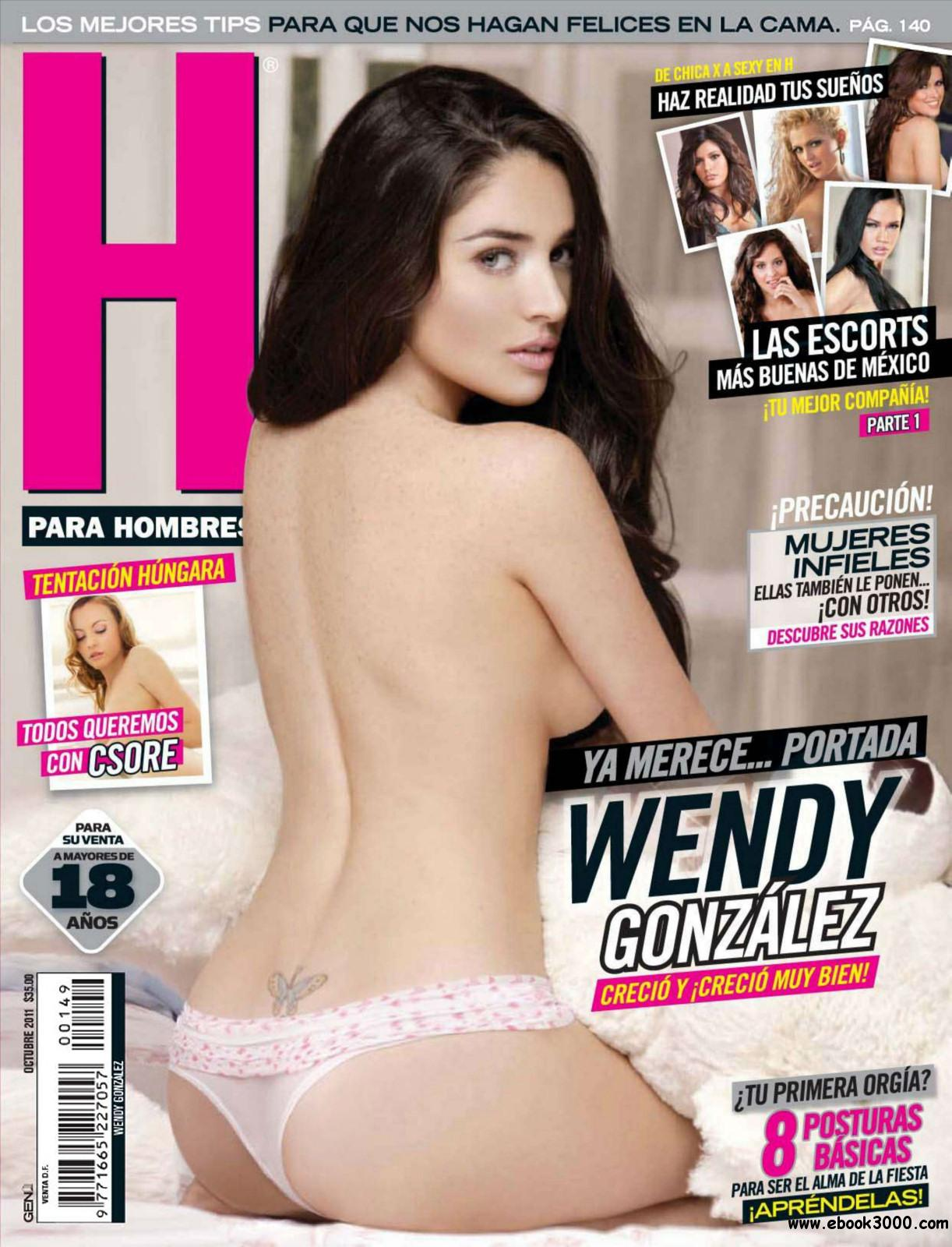 H para Hombres Mexico - October 2011 free download
