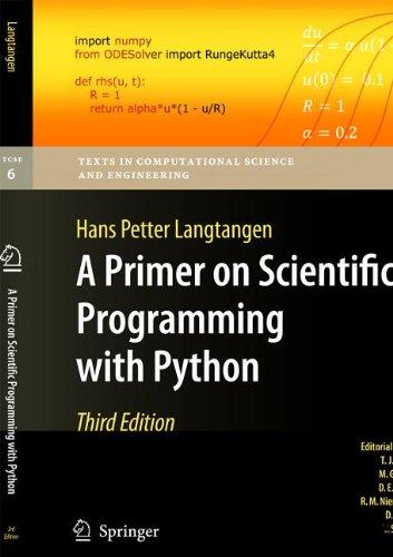 A Primer on Scientific Programming with Python, 3rd Edition free download