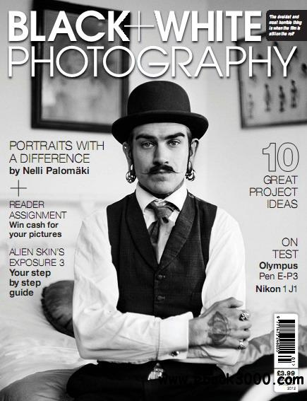 Black + White Photography Magazine January 2012 free download