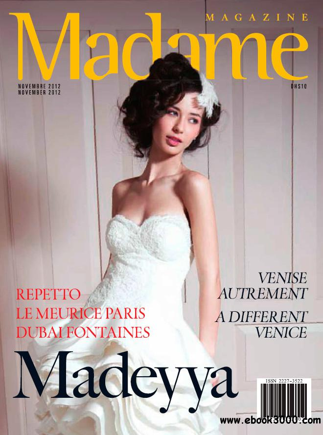 Madame Magazine - November 2012 free download