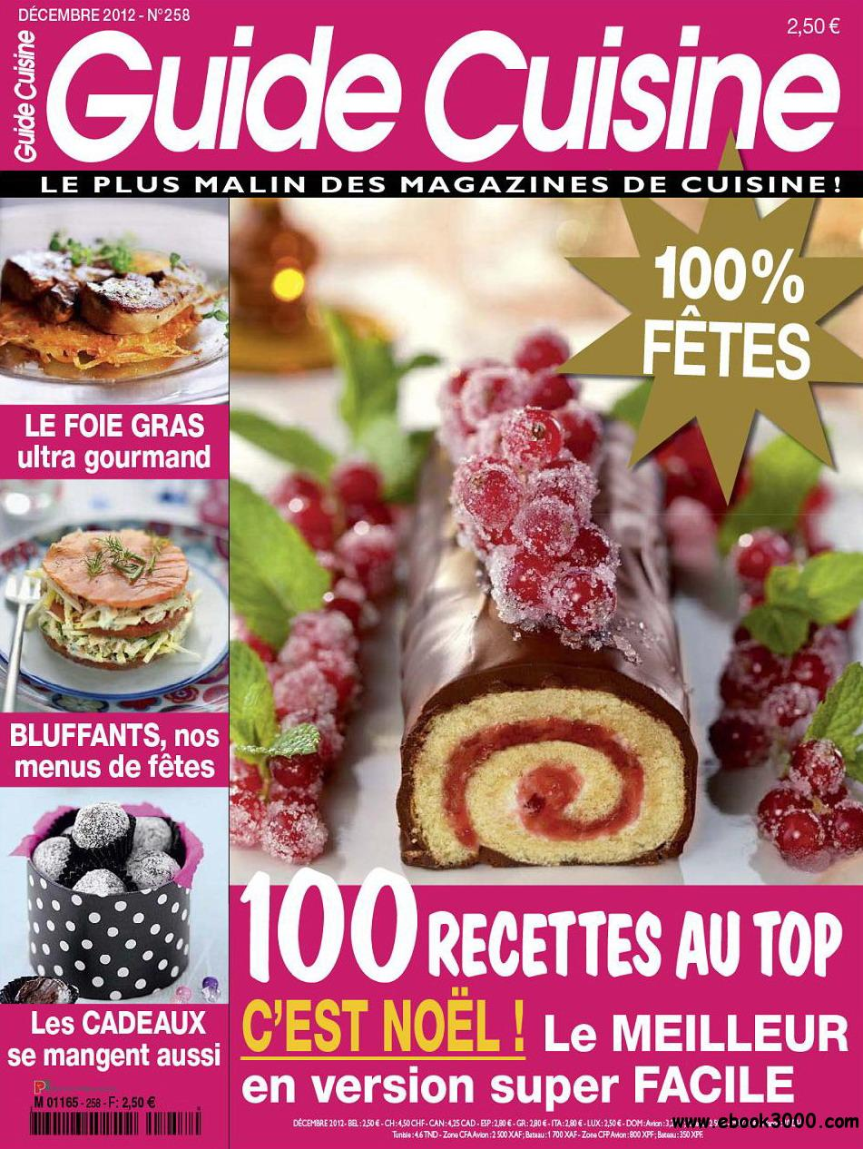 Tele Loisirs Guide Cuisine No.258 - Decembre 2012 free download
