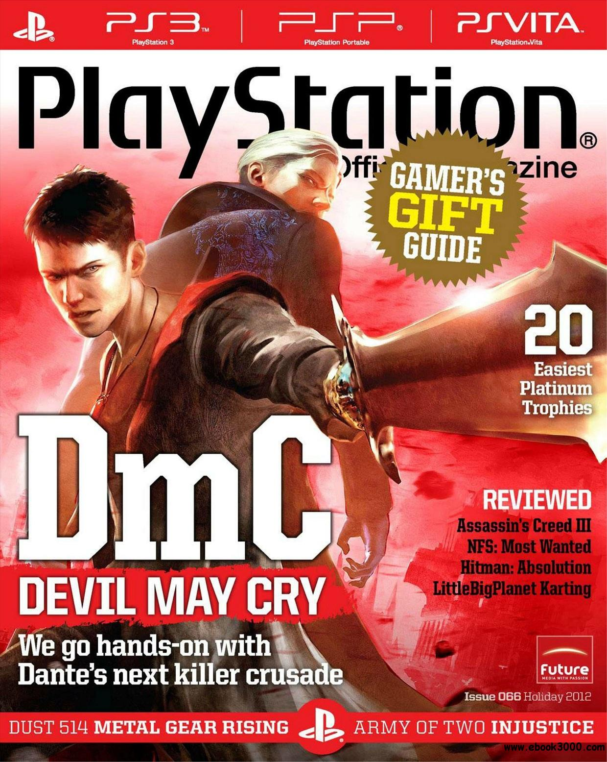 PlayStation: The Official Magazine US C Holiday 2012 free download