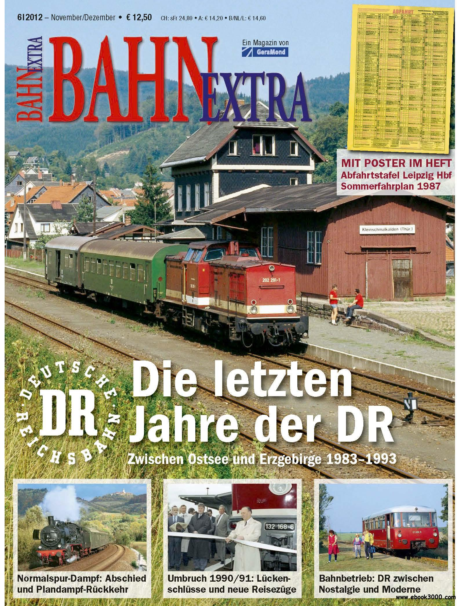 Bahn Extra November/Dezember 06/2012 free download