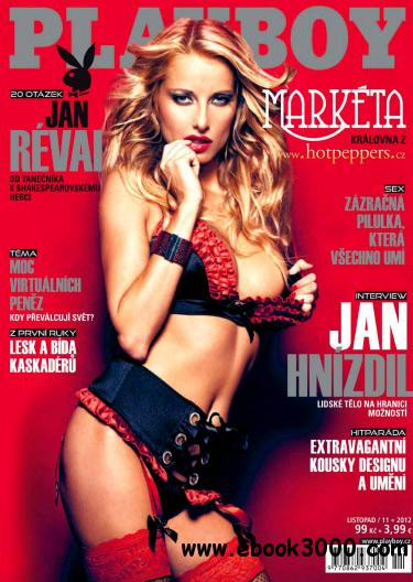 Playboy Czech - November 2012 free download