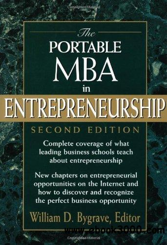 The Portable MBA in Entrepreneurship free download