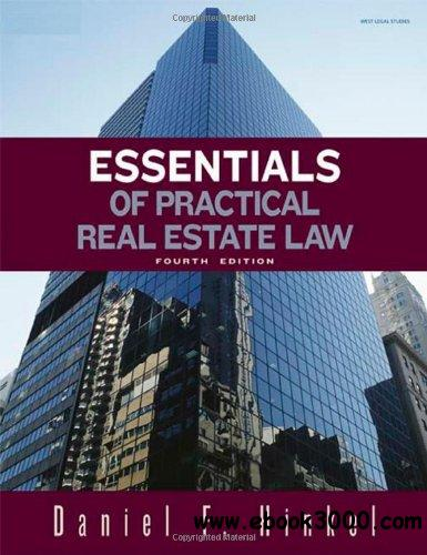 Essentials of Practical Real Estate Law free download