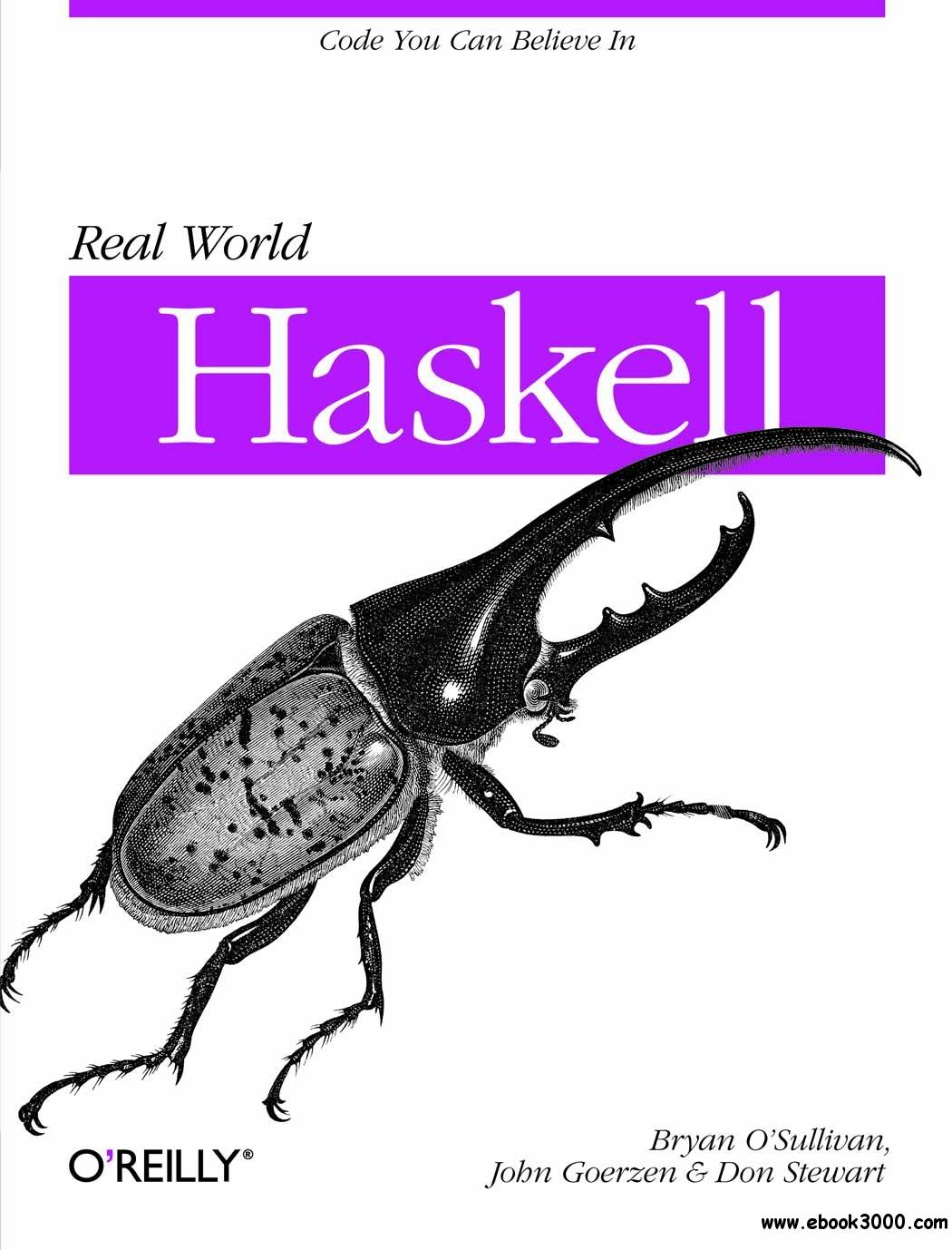 Real World Haskell free download