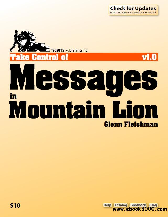 Take Control of Messages in Mountain Lion free download