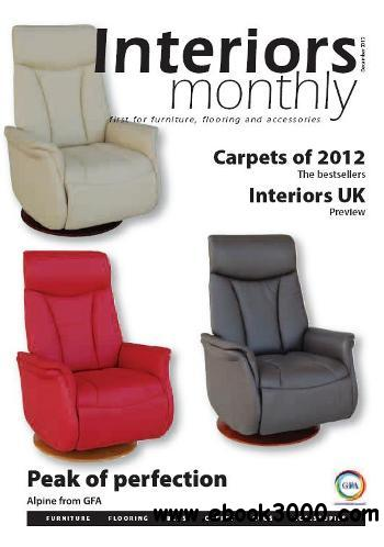 Interiors Monthly - December 2012 free download